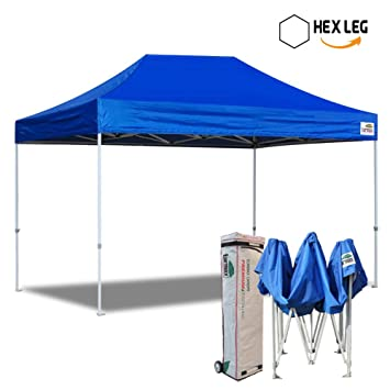 Eurmax 10x15 Ft Premium Ez Pop up Canopy Instant Shelter Outdoor Party Tent Gazebo Commercial grade  sc 1 st  Amazon.com & Amazon.com: Eurmax 10x15 Ft Premium Ez Pop up Canopy Instant ...
