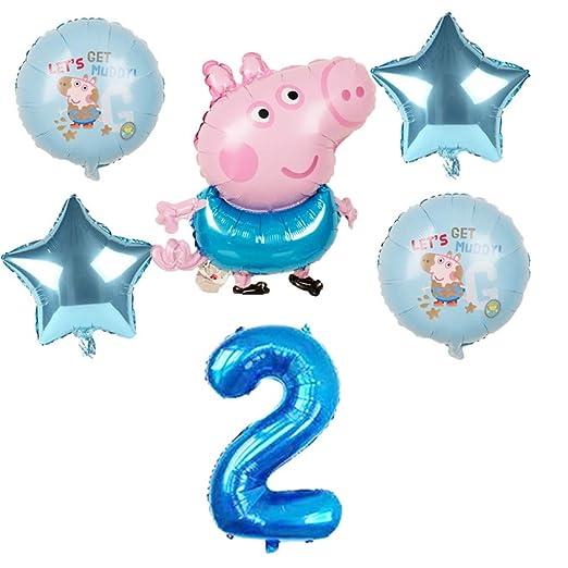 LIUUWO Balloon 6 Piezas de Globos de Papel de Dibujos ...