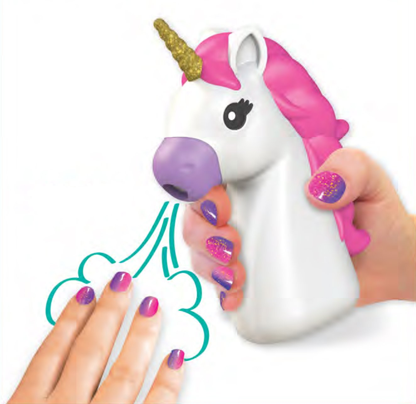 Fashion Angels 12180 Unicorn Dreams Nail Design Super Set Toy (Over 650 Piece), Assorted, Pack of 1 5