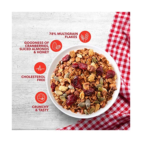 Amazon brand - Solimo Cranberry Muesli, 1kg 2 612ErRVnLFL