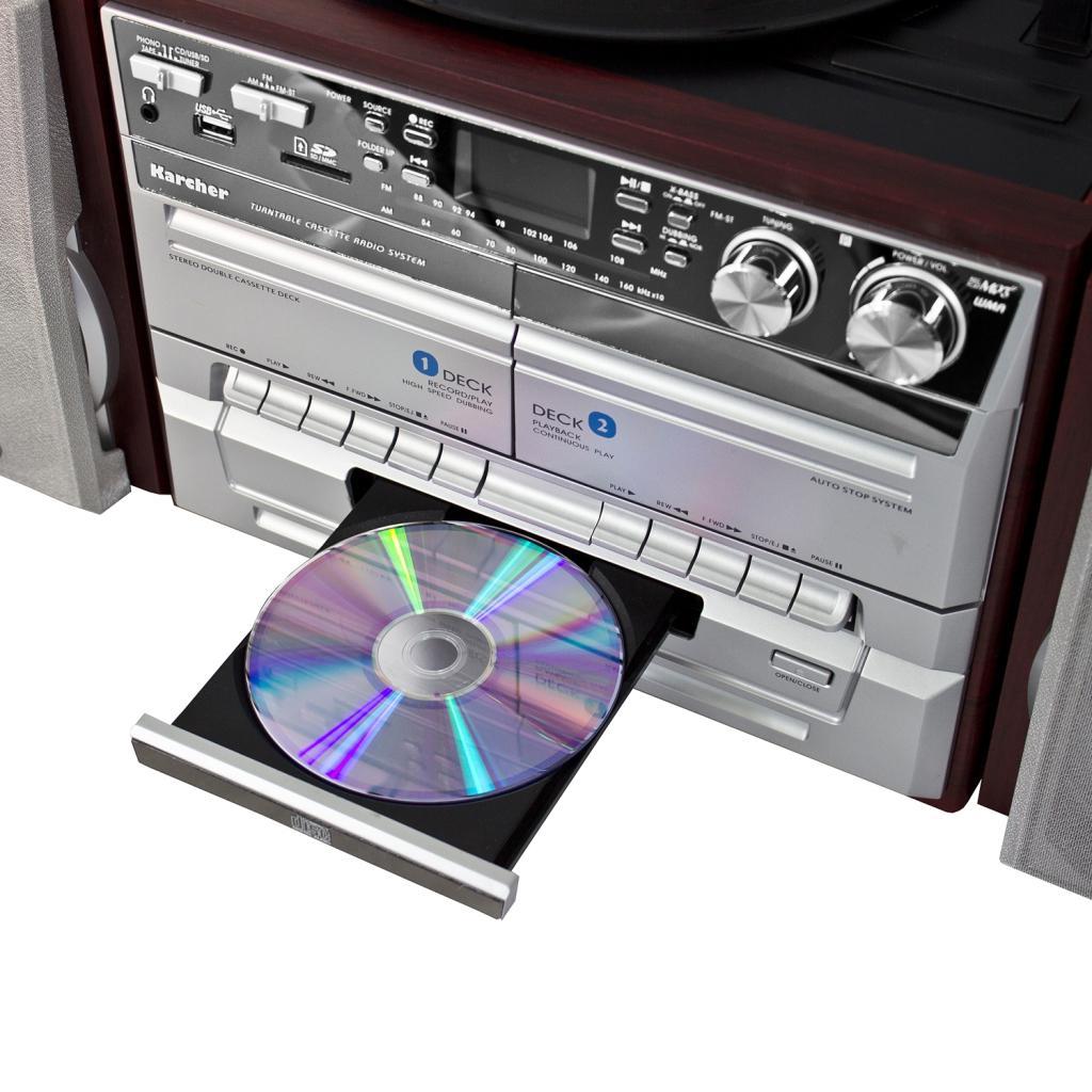karcher ka 320 kompaktanlage cd player. Black Bedroom Furniture Sets. Home Design Ideas