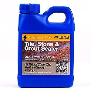 Miracle Sealants TSS PT SG Tile/Stone and Grout Economical Sealer, 1 Pint Bottle