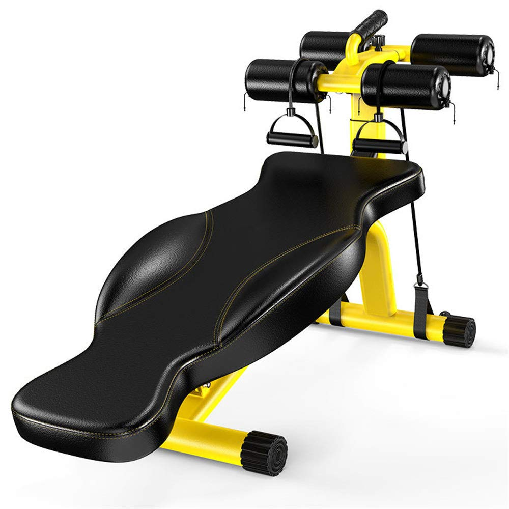 Yellow Fitness Equipment Home MultiFunction Dumbbell Bench Men's Abdominal Device Butterfly Board Back situp Sports &Outdoors