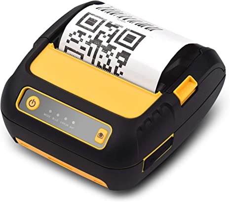 Mailing Portable 80mm USB Wireless Bluetooth Thermal Bill Printer Receipt Printer for Labeling Filing Barcodes Jadpes Portable Bluetooth Thermal Printer Home /& Office UK