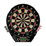 Best Electronic Dart Boards - Hathaway Magnum Electronic Soft Tip Dartboard Review