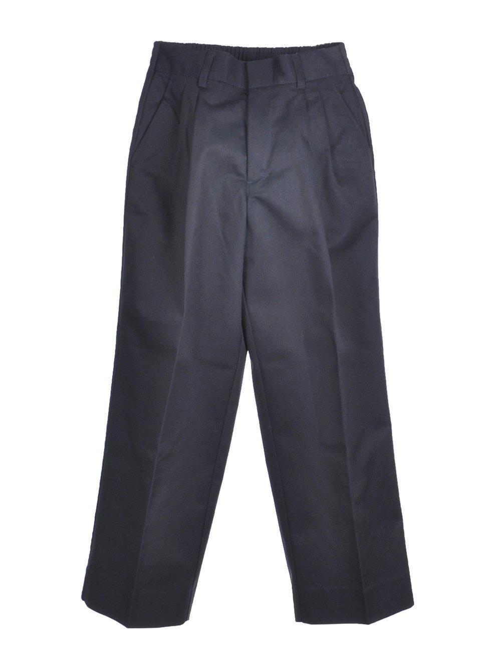 Cookie's Brand Big Boys' Pleated Pants - navy, 16