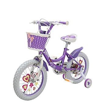 DT Bicicleta para niños 16/14/12 Pulgada Chica Bebé Bicicleta 2-3