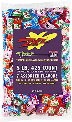 Zotz Fizzy Flavor Assorted 5 Pound product image