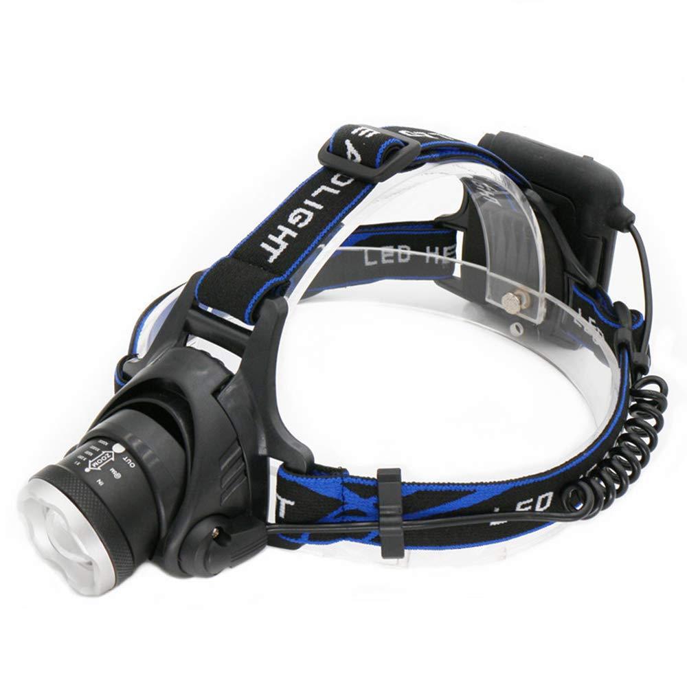 BESTUNE Linterna Frontal LED 7000LM Iluminaci/ón LED Usar l/ámpara de Cabeza de bater/ía AA Caza Linterna de Cabeza Luz de Cabeza de Pesca Luces de Bicicleta de Linterna