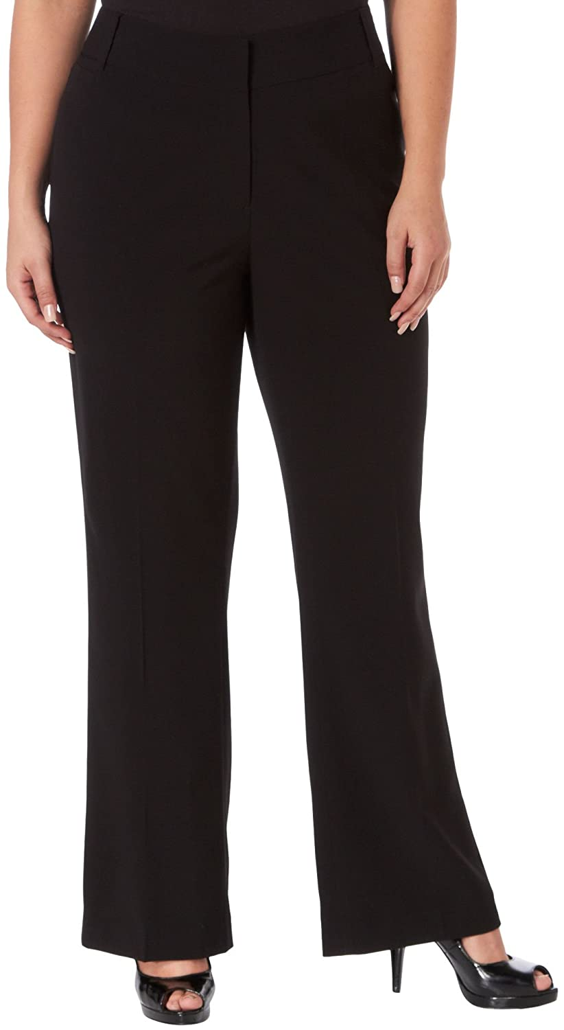 Nue Options Plus Signature Stretch Pants 20W Black 0018176437