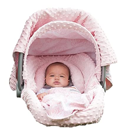 Carseat Canopy 5 Pc Whole Caboodle (Angelina) Baby Infant Car Seat Cover Kit with  sc 1 st  Amazon.com & Amazon.com: Carseat Canopy 5 Pc Whole Caboodle (Angelina) Baby ...