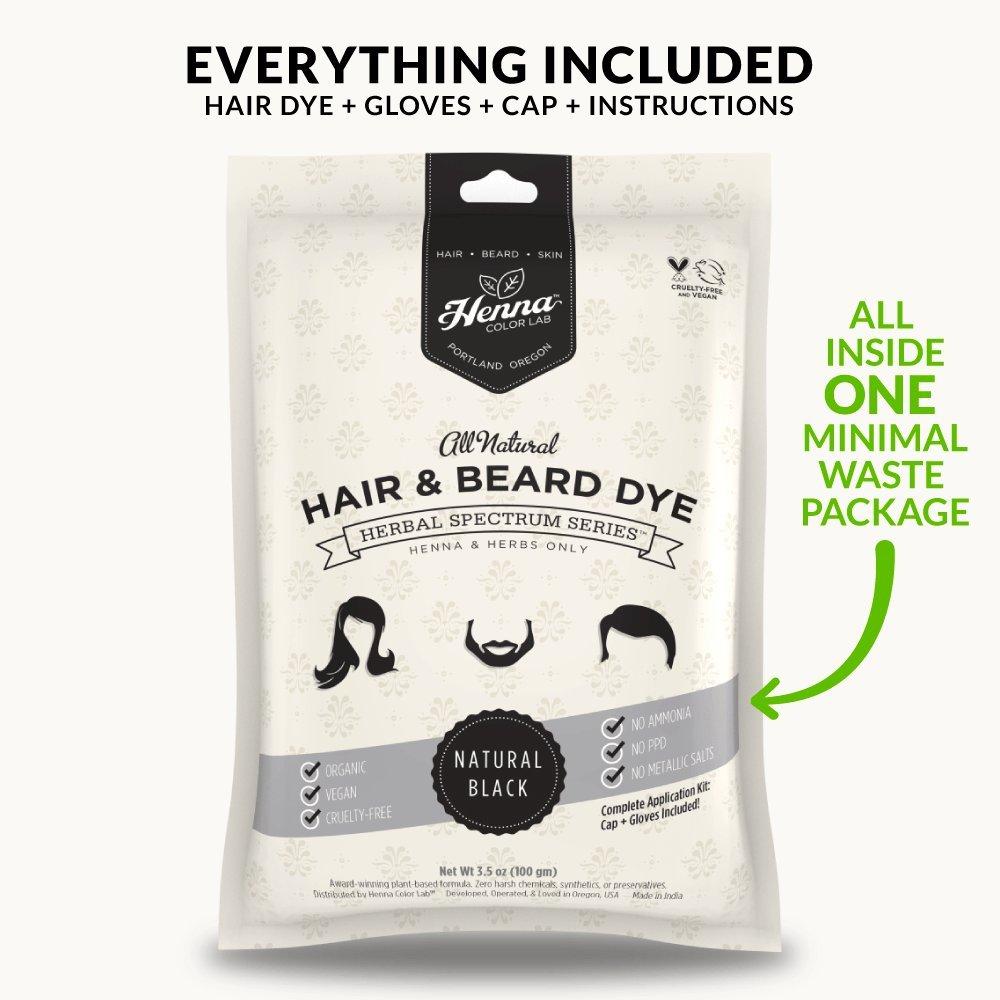Amazon Com Henna Color Lab Henna Hair Dye Natural Black Beauty