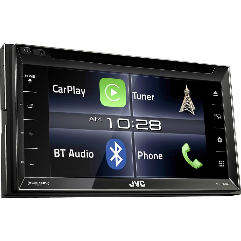 Amazon.com: JVC KW-V820BT 6.8-Inch CarPlay Receiver Double DIN BT In-Dash  Stereo with XM, iDataLink Maestro, Dual Zone: Cell Phones & Accessories