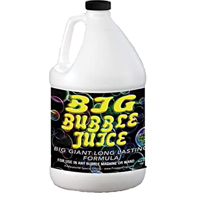 Froggys Fog - 1 Gallon - Big Bubble Juice - Enormous, Long-Lasting Bubble Fluid: Musical Instruments