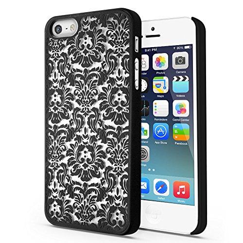 tnp-iphone-se-5s-5-case-damask-black-ultra-slim-fit-rubber-coating-hard-plastic-protective-back-carr