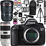 Canon EOS 5DSR DSLR Camera with EF 16-35mm f/2.8L III USM Lens & EF 70-200mm f/2.8L IS II USM Lens 30PC Accessory Kit - Includes 64GB Memory Card + MORE