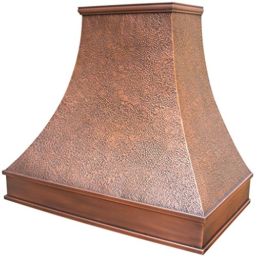 Copper Range Hood Cover Hancrafted By Skilled Artisan