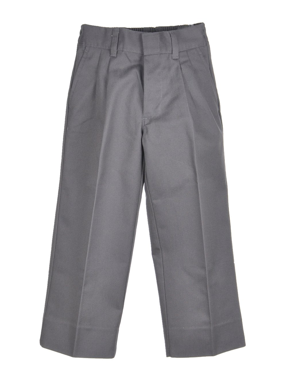 Cookie's Brand Little Boys' Pleated Pants - gray, 4 by Cookie's Kids (Image #1)