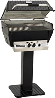 product image for Broilmaster P3-XFN Premium Natural Gas Grill On Black Patio Post