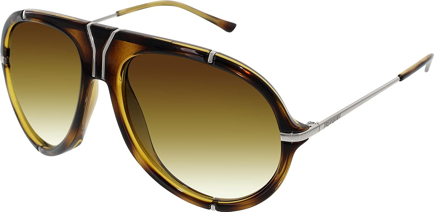 Amazon.com: Yves Saint Laurent 2340/S Sunglasses-0P8O Havana ...