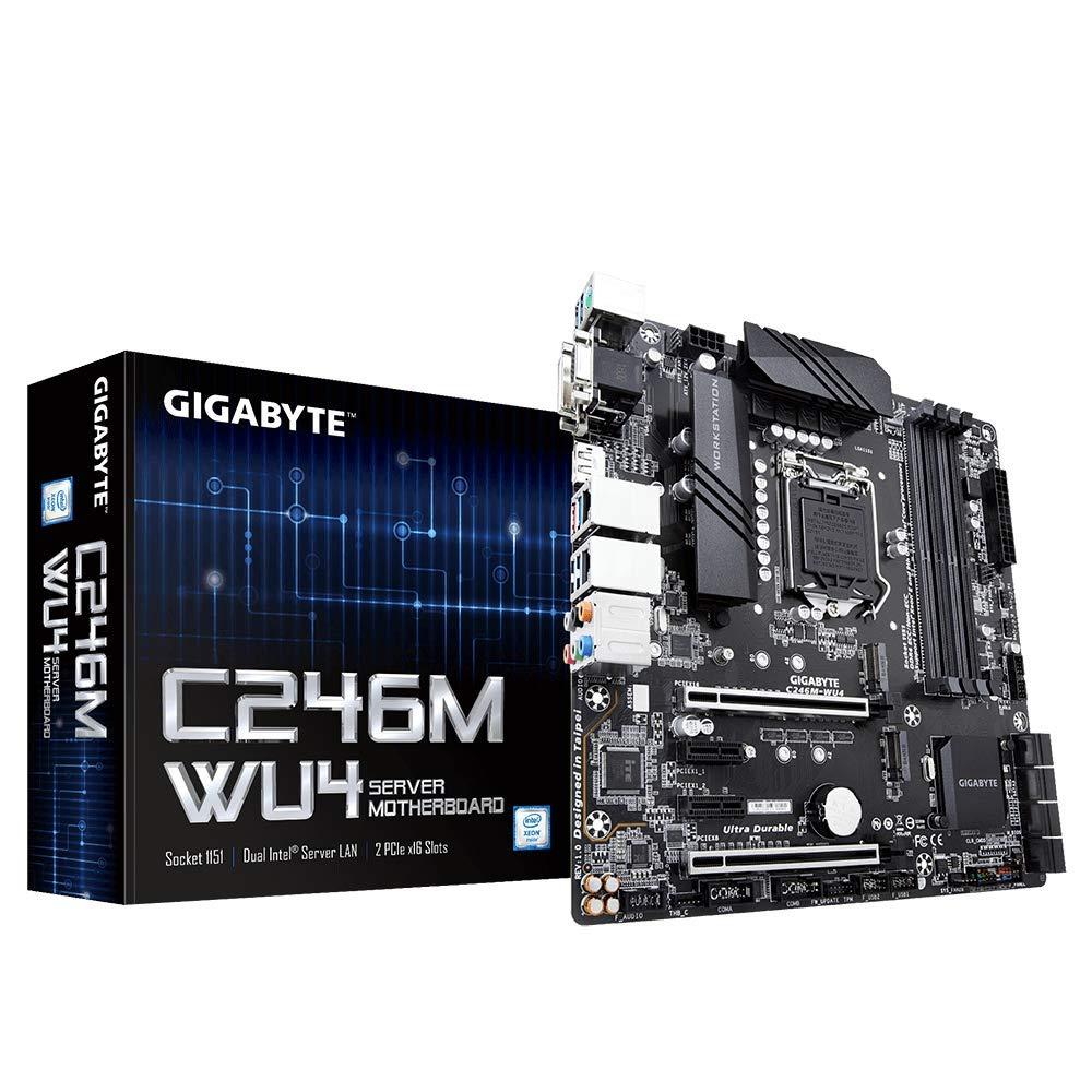 Motherboard Gigabyte C246M-WU4 Socket LGA1151