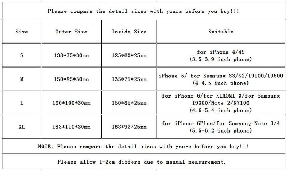 Kitechildheed Couverture imperm/éable de Bicyclette de Cas de Support de b/âti de v/élo de Mode pour Le t/él/éphone Portable XL