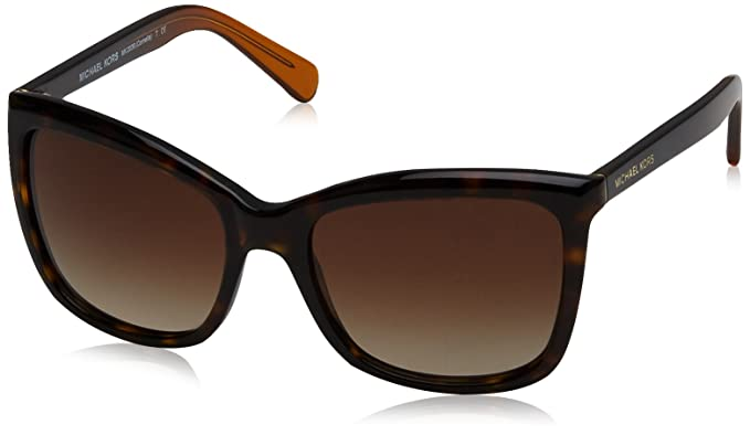 a8842d73e530 Image Unavailable. Image not available for. Color: Michael Kors MK2039  321713 Dark Tortoise Cornelia Square Sunglasses ...