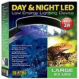 Exo Terra PT2336 Luz LED Diurna/Nocturna, Grande