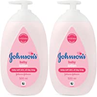 Johnson's Baby Lotion 500ml (Pack of 2)