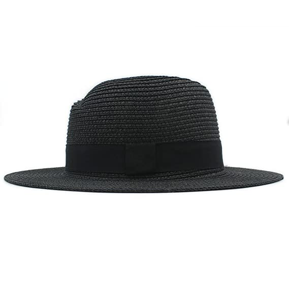 Buen sombrero Moda verano elegante grande ala ancha panamá sombrero reina  Fedora sombrero Beach Cap con 3f250dad0d0