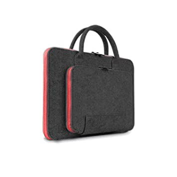 "Woolen felt Universal Laptop Sleeve Case Bag Pouch Handbag For 11~15.6/"" NoteBook"