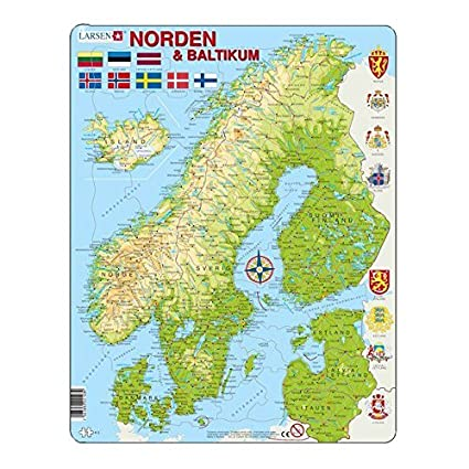 Amazon.com: Ln Map / Flag of Scandinavia Puzzle 75 ... on scandinavian peninsula map, scaninavia map, new zealand on map, swedish on map, norway map, bergen on map, sheboygan on map, baltic sea on map, british america on map, benelux on map, mountain states on map, scandinavian highlands on map, mongolia on map, preikestolen on map, alps on map, middle ages on map, iberian peninsula on map, british empire on map, the tropics on map, danube river on map,