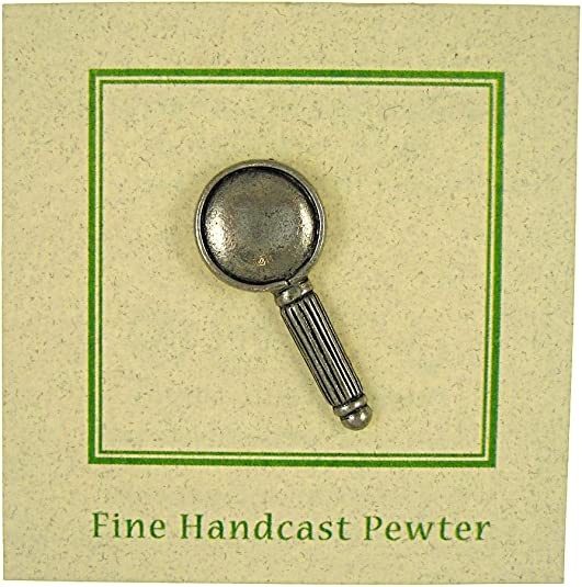 Jim Clift Design Magnifying Glass Lapel Pin