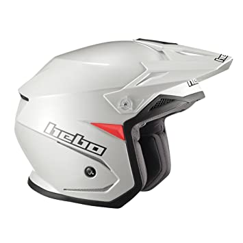 HEBO Trial Zone 5 Casco, Blanco, Talla S