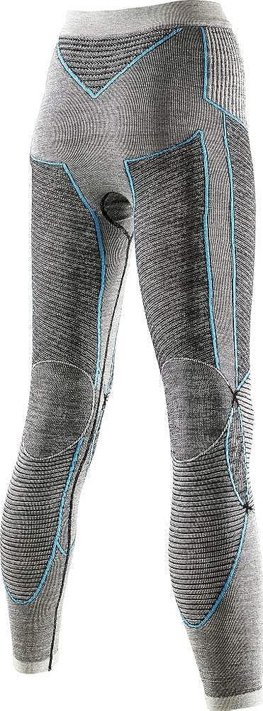 X Bionic/ I100468 Mujer Nero//Grigio//Rosa Ropa Interior de Mujer XS /apani Merino UW Pantalones Largos