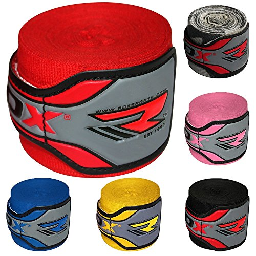 RDX Boxing Hand Wraps Elasticated MMA Inner Gloves Fist Protector 4.5 Meter Bandages