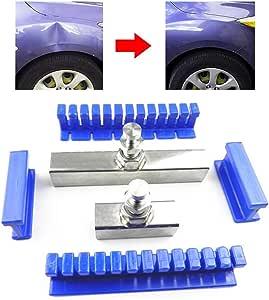 12pcs PDR Aluminum Glue Puller Tabs Tools Paintless Dent Repair Removal Pulling