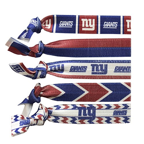 - Littlearth NFL New York Giants Knotted Hair Tie