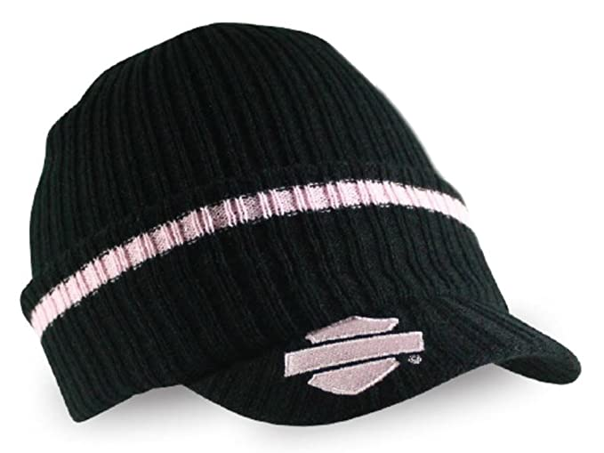 42bb771c2ed32 Harley-Davidson Women s Striped H-D Embroidered Knit Cap