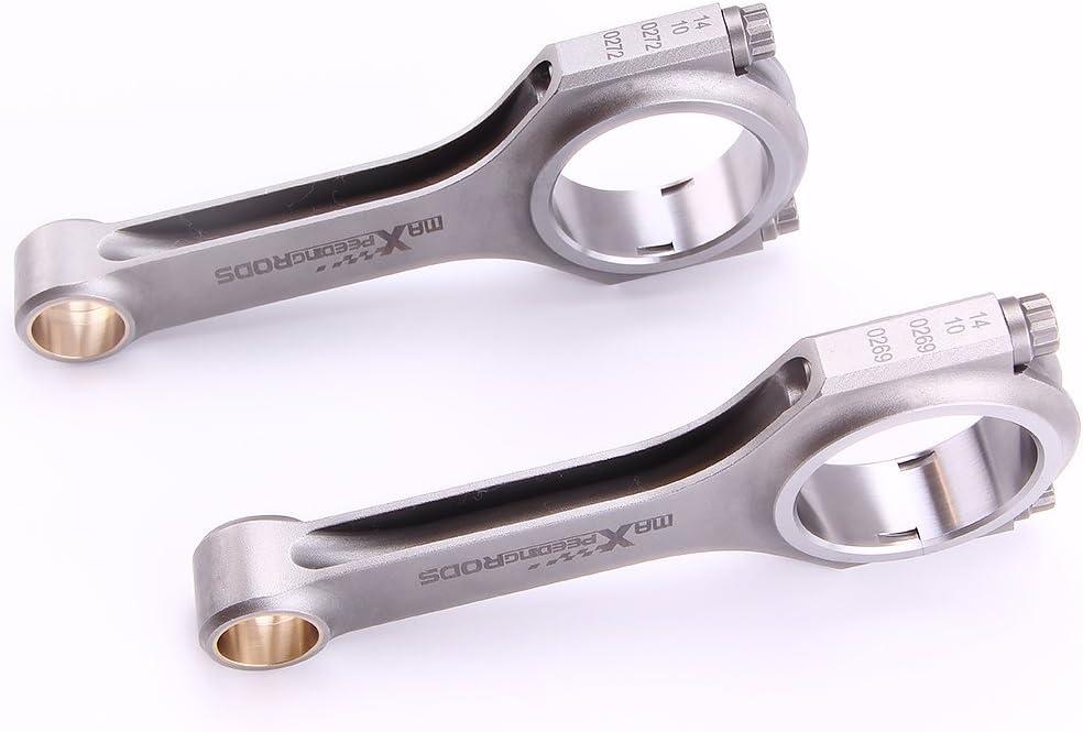 maXpeedingrods Connecting Rods with 5//16 ARP2000 Bolts for Suzuki Swift Gti Cultus Gti with Suzuki G13B Engine