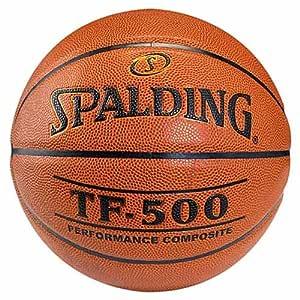 Spalding balón de baloncesto Indoor TF 500 tamaño de la bola 6 ...
