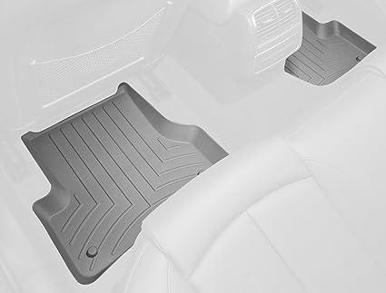 Black WeatherTech Custom Fit Rear FloorLiner for BMW X5