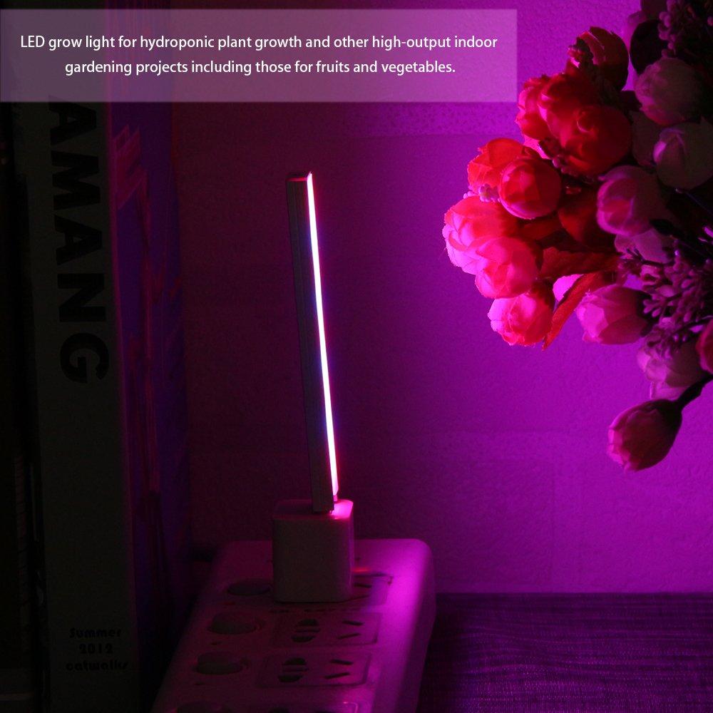 Winbang Grow Light Red /& Blue hydroponique plante qui pousse Light Bar USB 14 LED pour PC de bureau Fleur Culture des plantes DC 5V 3W