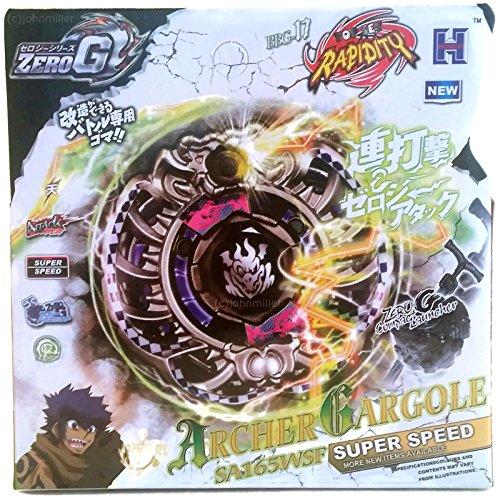 Archer Gargoyle Gargole Zero-G Shogun Steel Beyblade STARTER SET w/ Launcher NIP (Gargoyle Archer Beyblade)