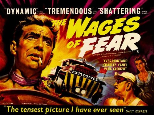 Wages of Fear Poster 30x40 Yves Montand Charles Vanel Peter van - Van Charles Den