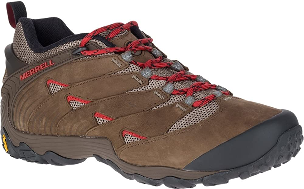 Merrell Mens Chameleon 7 Lightweight Breathable Mesh Hiking Shoes