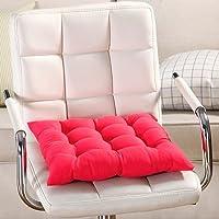 Cuscino per sedia, 9colori, lavabile, per sala da pranzo, giardino, cucina, auto