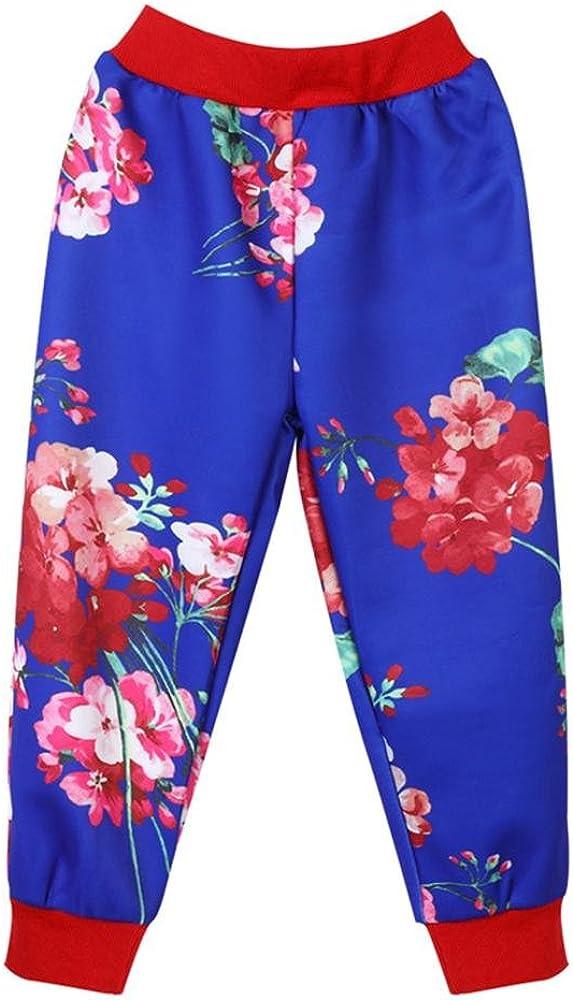 Wennikids Girls Clothes Floral Jacket+Pants 2pcs Kids Sports Suit Children Clothing Sets