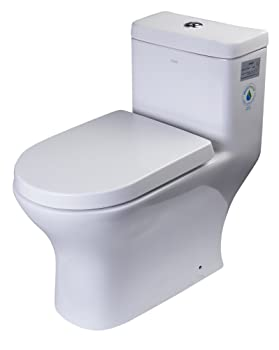 EAGO TB353 Dual Flush Eco-Friendly Ceramic Toilet