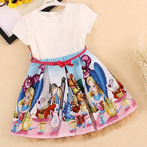 BRWCF Baby Girls Clothing Princess Dresses For Girls (3T)